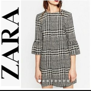 Zara bell sleeve dress